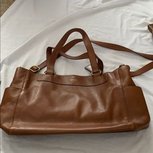 Fossil commuter bag